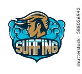 colourful emblem  logo  sticker ... | Shutterstock .eps vector #588026942