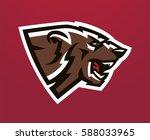 colorful logo  identity  mascot ...   Shutterstock .eps vector #588033965