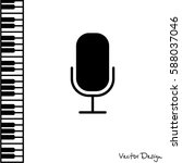 web icon. microphone  voice...