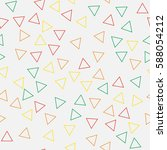 black and white retro pattern... | Shutterstock .eps vector #588054212