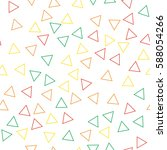 black and white retro pattern... | Shutterstock .eps vector #588054266