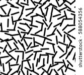 black and white retro pattern... | Shutterstock .eps vector #588054356