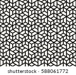 abstract geometric simple... | Shutterstock .eps vector #588061772