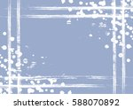 vector drawn background with... | Shutterstock .eps vector #588070892