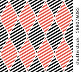 seamless vector abstract... | Shutterstock .eps vector #588076082