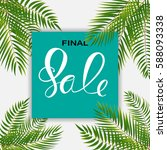 abstract designs final sale... | Shutterstock .eps vector #588093338