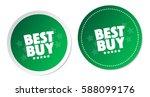 best buy stickers | Shutterstock .eps vector #588099176