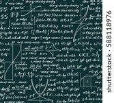 vector mathematics seamless...   Shutterstock .eps vector #588118976