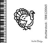 web line icon. turkey | Shutterstock .eps vector #588120065