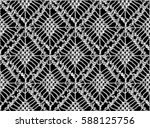knitted seamless patterns.... | Shutterstock .eps vector #588125756