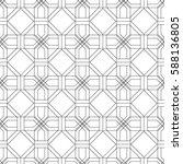 seamless geometric pattern.... | Shutterstock .eps vector #588136805