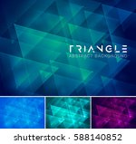 Triangle Abstract Background ...