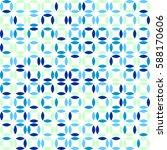 geometric seamless pattern... | Shutterstock .eps vector #588170606