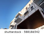 modern  luxury apartment... | Shutterstock . vector #588186542
