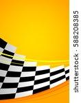 yellow racing background  sport ... | Shutterstock .eps vector #588208385
