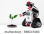 minsk  belarus    february 26 ... | Shutterstock . vector #588215282