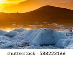 touring south iceland at... | Shutterstock . vector #588223166