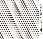seamless star pattern. endless...   Shutterstock .eps vector #588275972