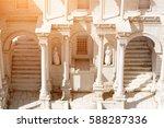 Ancient Oriental Stone Temple...