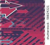 abstract editable vector... | Shutterstock .eps vector #58829221