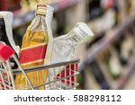 supermarket store abstract blur ... | Shutterstock . vector #588298112