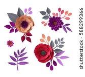 3d render  digital illustration ...   Shutterstock . vector #588299366
