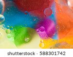bubbles with colors abstract... | Shutterstock . vector #588301742