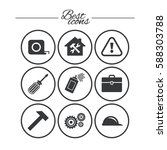 repair  construction icons....   Shutterstock .eps vector #588303788