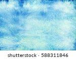 blue empty school chalkboard...   Shutterstock . vector #588311846