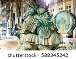 Musicians Fountain At Grand Ru...