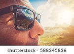 sunglasses protection.... | Shutterstock . vector #588345836