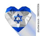 vector crystal gem jewelry... | Shutterstock .eps vector #588350306