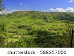 view of fort lewis mountain... | Shutterstock . vector #588357002