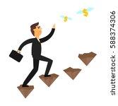 businessman | Shutterstock .eps vector #588374306