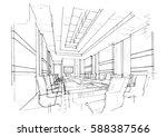 sketch streaks meeting  black...   Shutterstock .eps vector #588387566
