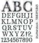Handwritten Vintage Alphabet....