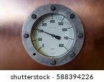 Vintage Pressure Gauge On...