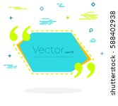 abstract concept vector empty... | Shutterstock .eps vector #588402938