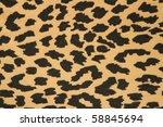 fabric   leopard skin ... | Shutterstock . vector #58845694