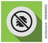 anti bug vector icon | Shutterstock .eps vector #588480002