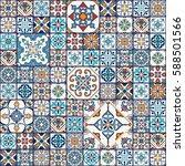 vector seamless texture.... | Shutterstock .eps vector #588501566