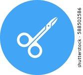 scissor   Shutterstock .eps vector #588502586