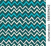seamless pattern with waves.... | Shutterstock .eps vector #588509642