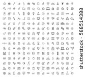 icon sign graphic set collection
