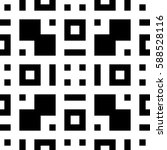 seamless geometric pattern.... | Shutterstock .eps vector #588528116
