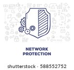 vector creative illustration of ... | Shutterstock .eps vector #588552752