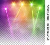 special light effects.... | Shutterstock .eps vector #588598502