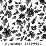 floral seamless background...   Shutterstock .eps vector #588599852