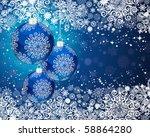 christmas postcard | Shutterstock . vector #58864280