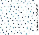 vector seamless pattern. modern ... | Shutterstock .eps vector #588643322